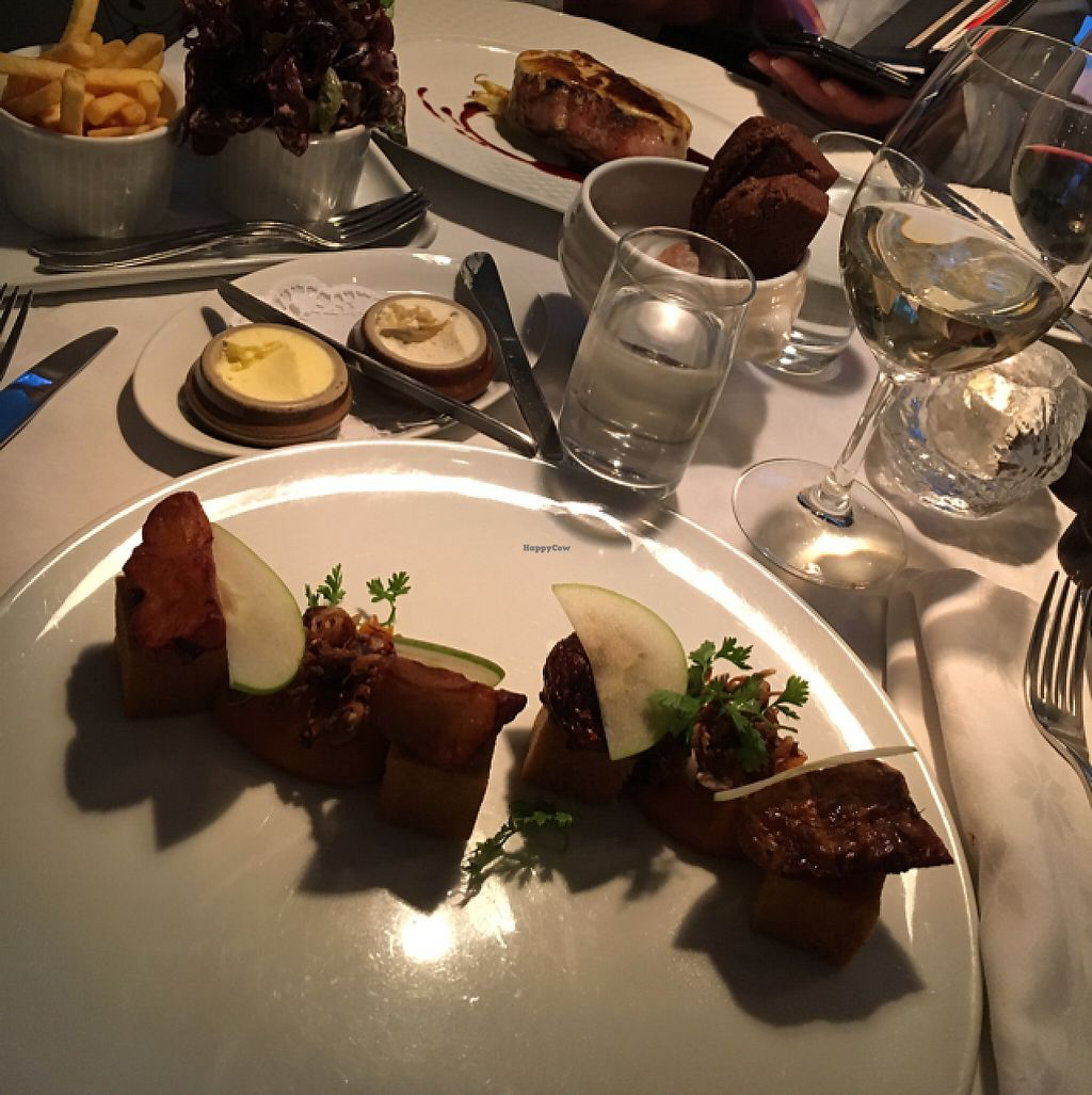 """Photo of Brasserie Godot  by <a href=""""/members/profile/MariaSkancke"""">MariaSkancke</a> <br/>Second dish <br/> May 26, 2017  - <a href='/contact/abuse/image/66449/262792'>Report</a>"""