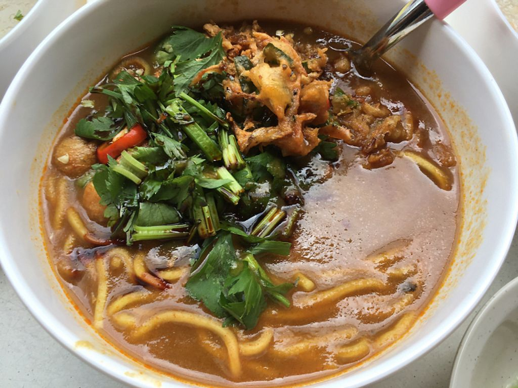 """Photo of Ji Xiang Vegetarian Stall - Choice Coffee  by <a href=""""/members/profile/Scarlet-Scarlet"""">Scarlet-Scarlet</a> <br/>Mee rebus  <br/> March 17, 2017  - <a href='/contact/abuse/image/66489/237434'>Report</a>"""