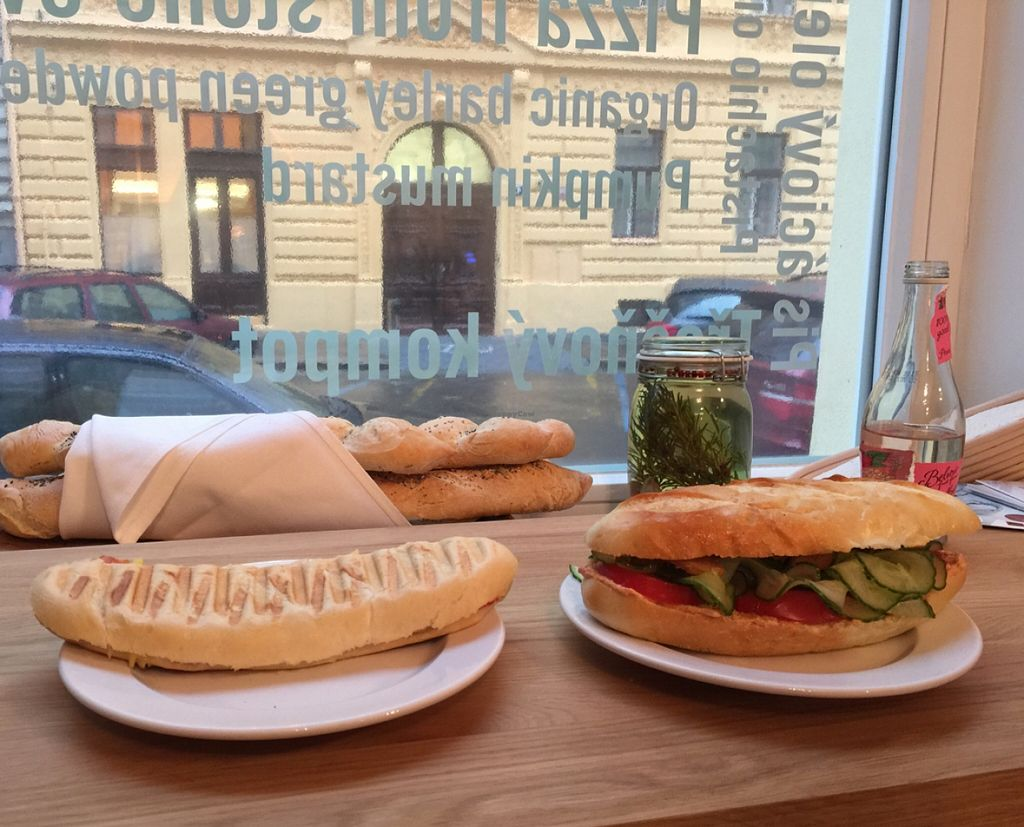 """Photo of CLOSED: Etnosvet Bistro  by <a href=""""/members/profile/vegetariangirl"""">vegetariangirl</a> <br/>grilled panini and sandwich  <br/> December 23, 2015  - <a href='/contact/abuse/image/66563/129631'>Report</a>"""