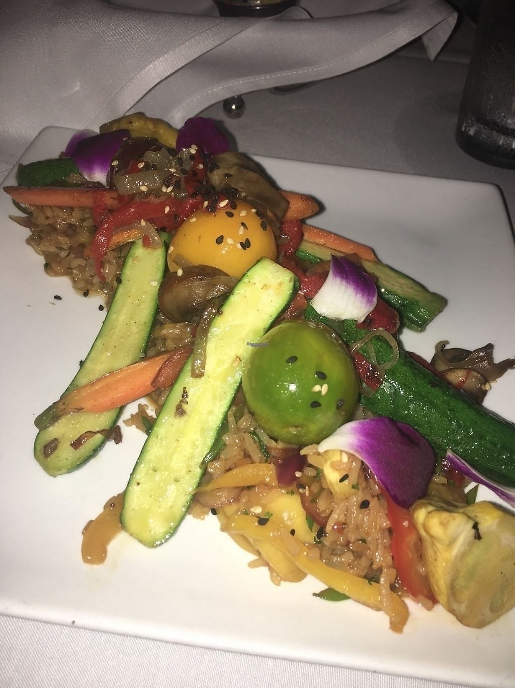 "Photo of Southernmost Beach Cafe  by <a href=""/members/profile/fozzboz"">fozzboz</a> <br/>Veggie stir fry - loved it <br/> March 28, 2017  - <a href='/contact/abuse/image/66569/241995'>Report</a>"
