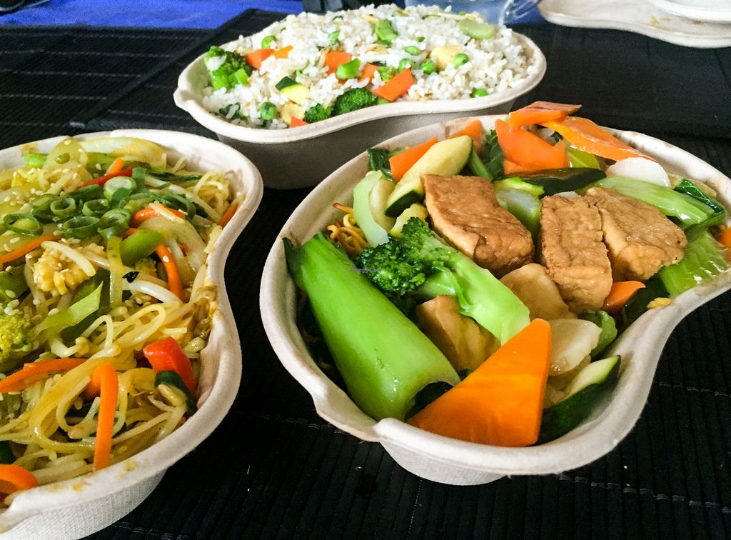 """Photo of Wok'd Gourmet Chinese  by <a href=""""/members/profile/karlaess"""">karlaess</a> <br/>Vegetarian options <br/> December 2, 2015  - <a href='/contact/abuse/image/66570/126954'>Report</a>"""