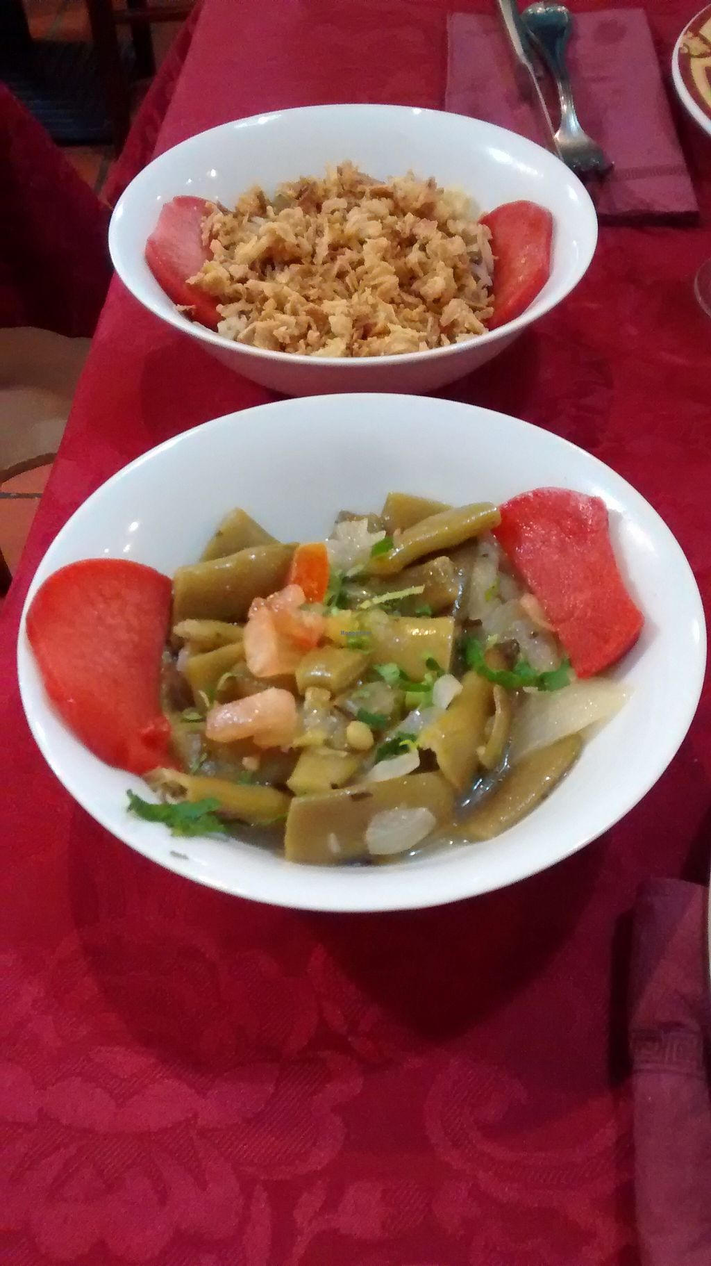 "Photo of Le Cedre  by <a href=""/members/profile/JonJon"">JonJon</a> <br/>Hot dishes (rice, vegetables, lentils) <br/> December 5, 2015  - <a href='/contact/abuse/image/66577/127275'>Report</a>"