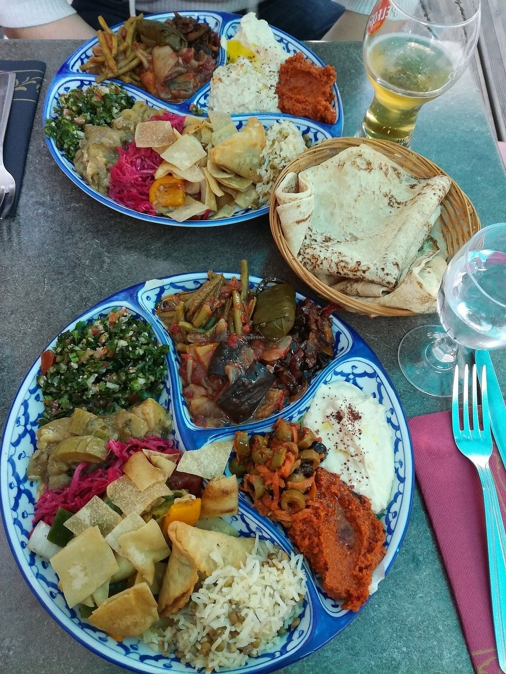 "Photo of Le Cedre  by <a href=""/members/profile/happyowl"">happyowl</a> <br/>Vegan mezze <br/> August 6, 2017  - <a href='/contact/abuse/image/66577/289597'>Report</a>"