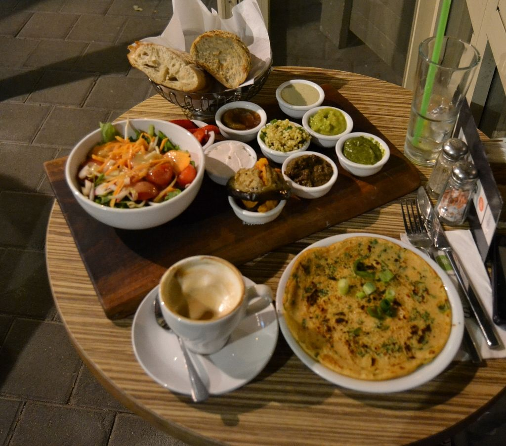 """Photo of Fresh Kitchen - Ben Yehuda  by <a href=""""/members/profile/Purple_Porcupine"""">Purple_Porcupine</a> <br/>Vegan all day breakfast! <br/> December 3, 2015  - <a href='/contact/abuse/image/66579/127038'>Report</a>"""