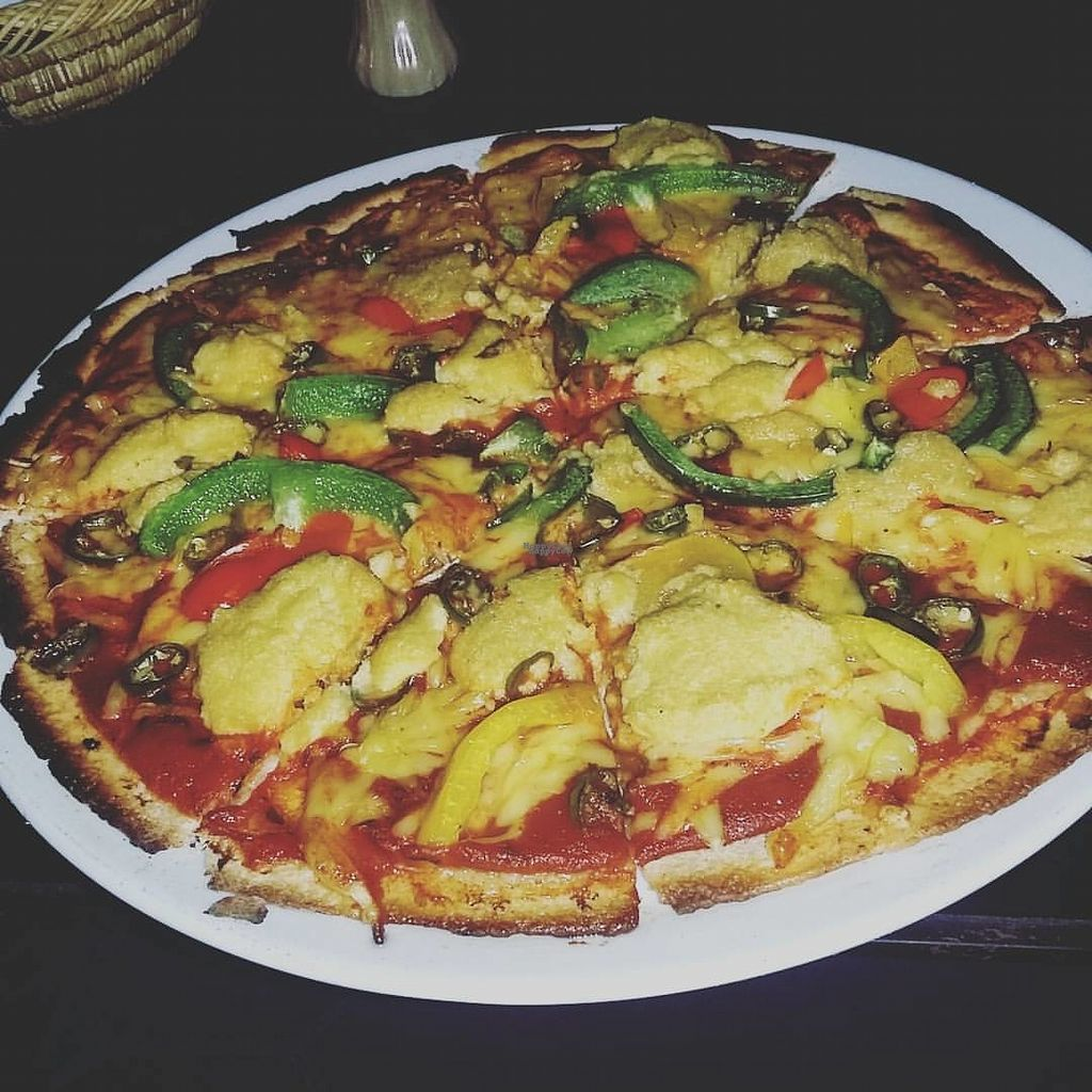 """Photo of Bar Maroc  by <a href=""""/members/profile/Meaks"""">Meaks</a> <br/>Vegan Pizza <br/> September 4, 2016  - <a href='/contact/abuse/image/66587/173562'>Report</a>"""