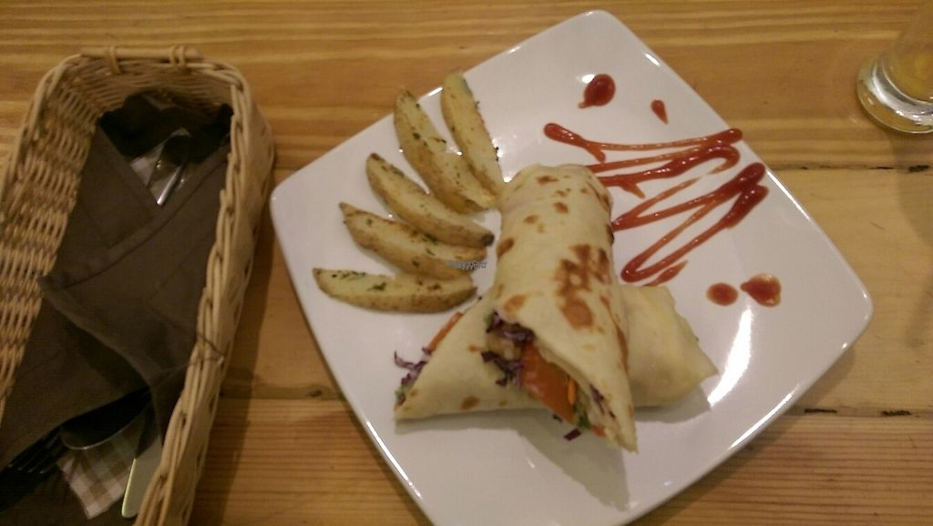 """Photo of LN Fortunate Coffee - Jogja  by <a href=""""/members/profile/whatswithwendy"""">whatswithwendy</a> <br/>burrito wrap with vegan mayonaise!  <br/> April 16, 2017  - <a href='/contact/abuse/image/66618/248647'>Report</a>"""