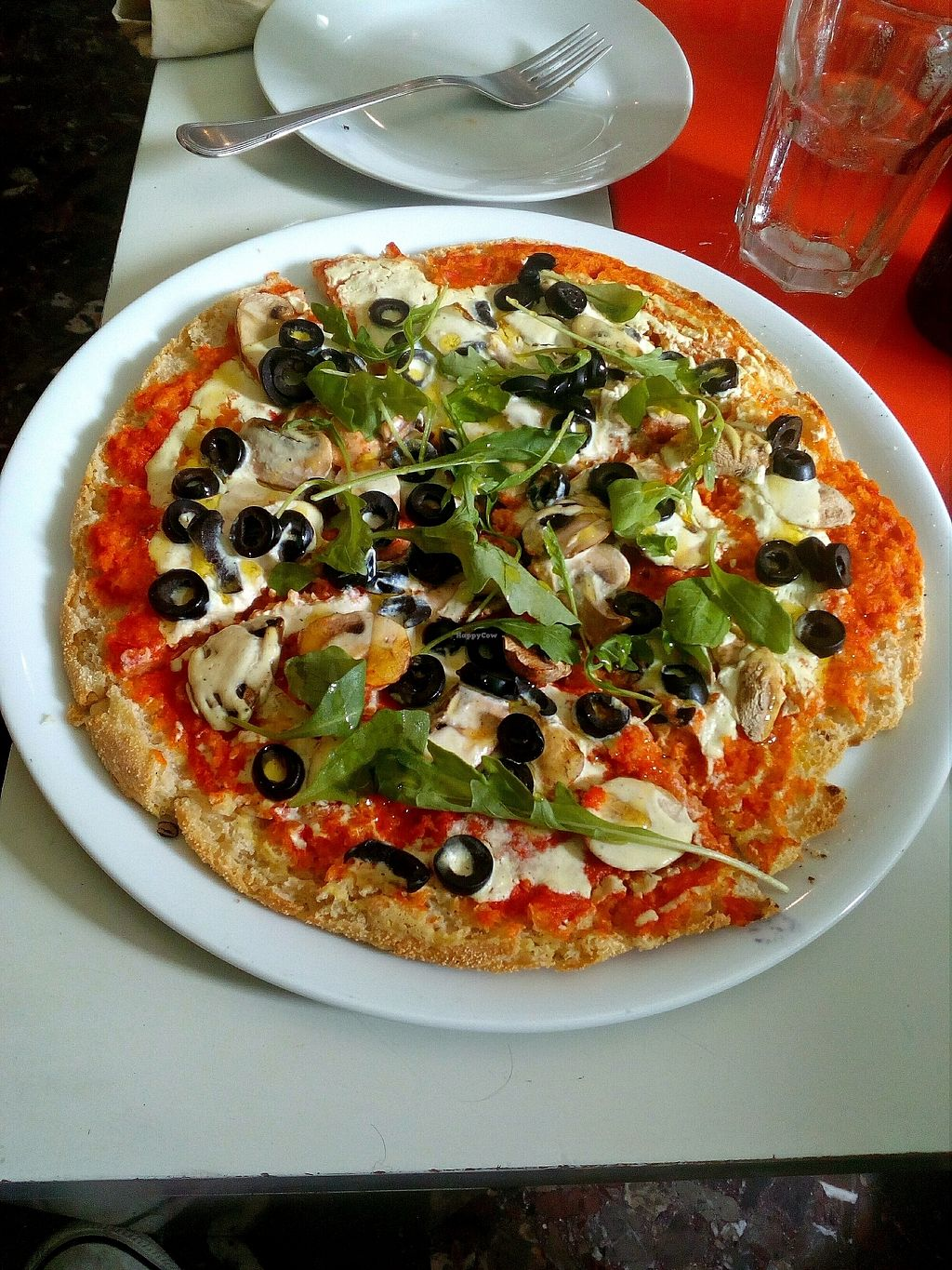 "Photo of CLOSED: Nehuen Tasca Vegana  by <a href=""/members/profile/wyrd"">wyrd</a> <br/>pizza with mushrooms and olives <br/> October 14, 2017  - <a href='/contact/abuse/image/66620/315153'>Report</a>"