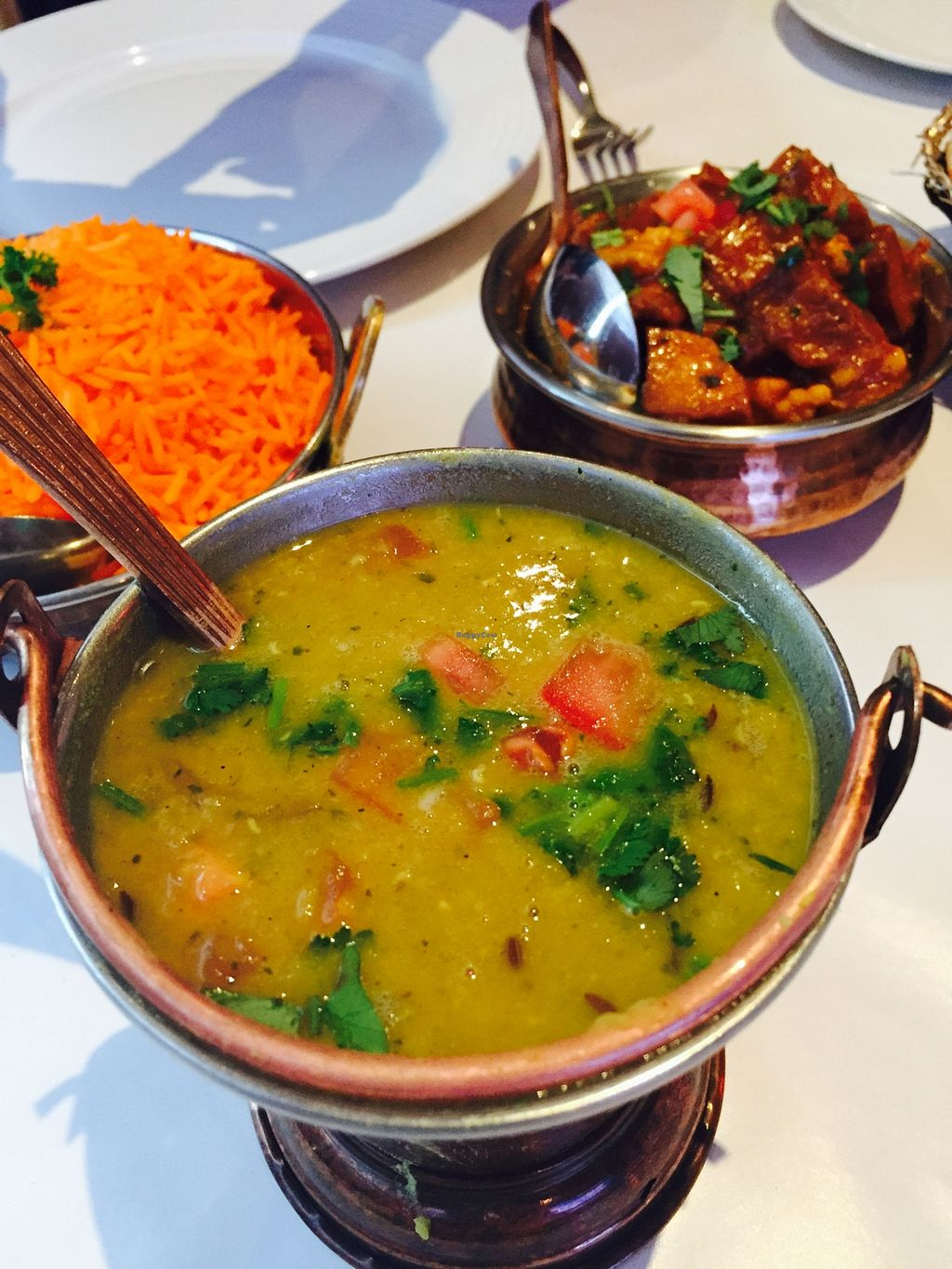"Photo of Curry Town  by <a href=""/members/profile/karlaess"">karlaess</a> <br/>Balti Daal Tadka <br/> December 5, 2015  - <a href='/contact/abuse/image/66630/127334'>Report</a>"