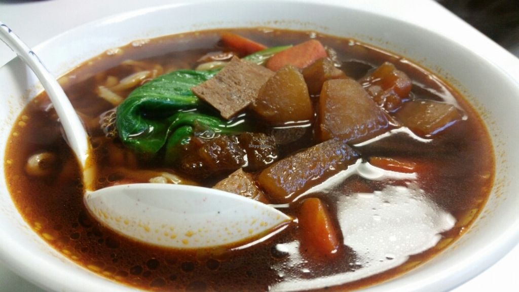 "Photo of Sweet Veggie  by <a href=""/members/profile/kenvegan"">kenvegan</a> <br/>'Beef' Soup <br/> December 12, 2015  - <a href='/contact/abuse/image/66638/128090'>Report</a>"