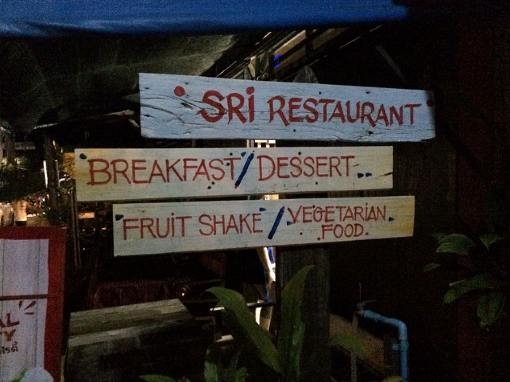"""Photo of SRI Restaurant   by <a href=""""/members/profile/solarkismet"""">solarkismet</a> <br/>front sign <br/> December 4, 2015  - <a href='/contact/abuse/image/66647/127126'>Report</a>"""