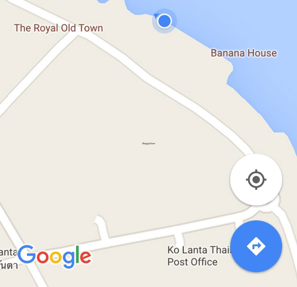 """Photo of SRI Restaurant   by <a href=""""/members/profile/solarkismet"""">solarkismet</a> <br/>Blue dot is from sitting by water edge ; entrance is off main street) <br/> December 4, 2015  - <a href='/contact/abuse/image/66647/127128'>Report</a>"""