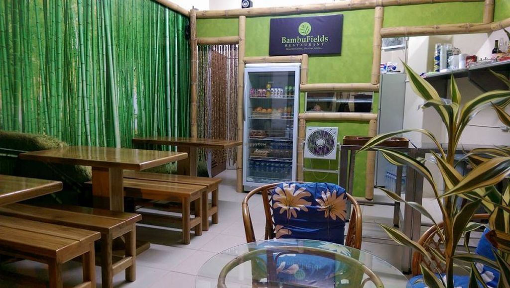 """Photo of BambuFields Restaurant  by <a href=""""/members/profile/community"""">community</a> <br/>Inside BambuFields Restaurant  <br/> December 13, 2015  - <a href='/contact/abuse/image/66677/128346'>Report</a>"""