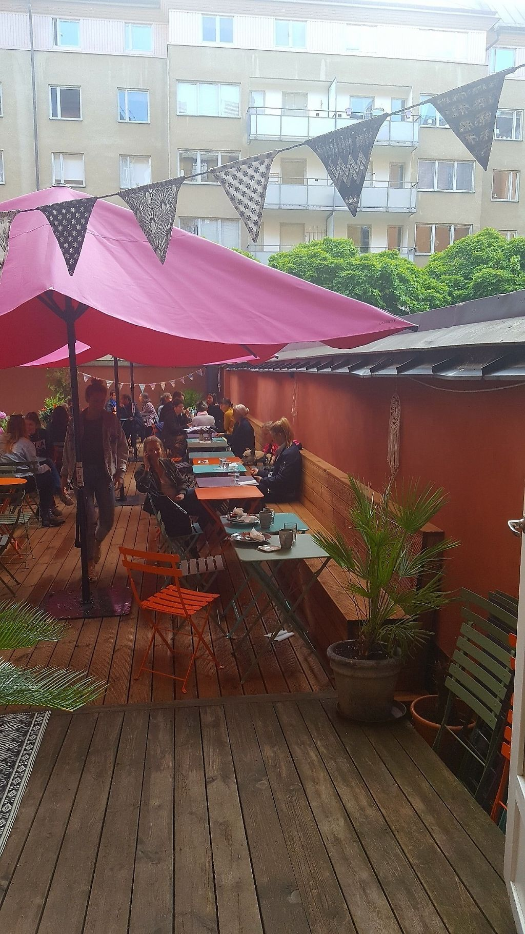 """Photo of Mahalo  by <a href=""""/members/profile/vanialuena"""">vanialuena</a> <br/>Mahalo Stockholm Outdoor seating <br/> June 5, 2017  - <a href='/contact/abuse/image/66713/266011'>Report</a>"""