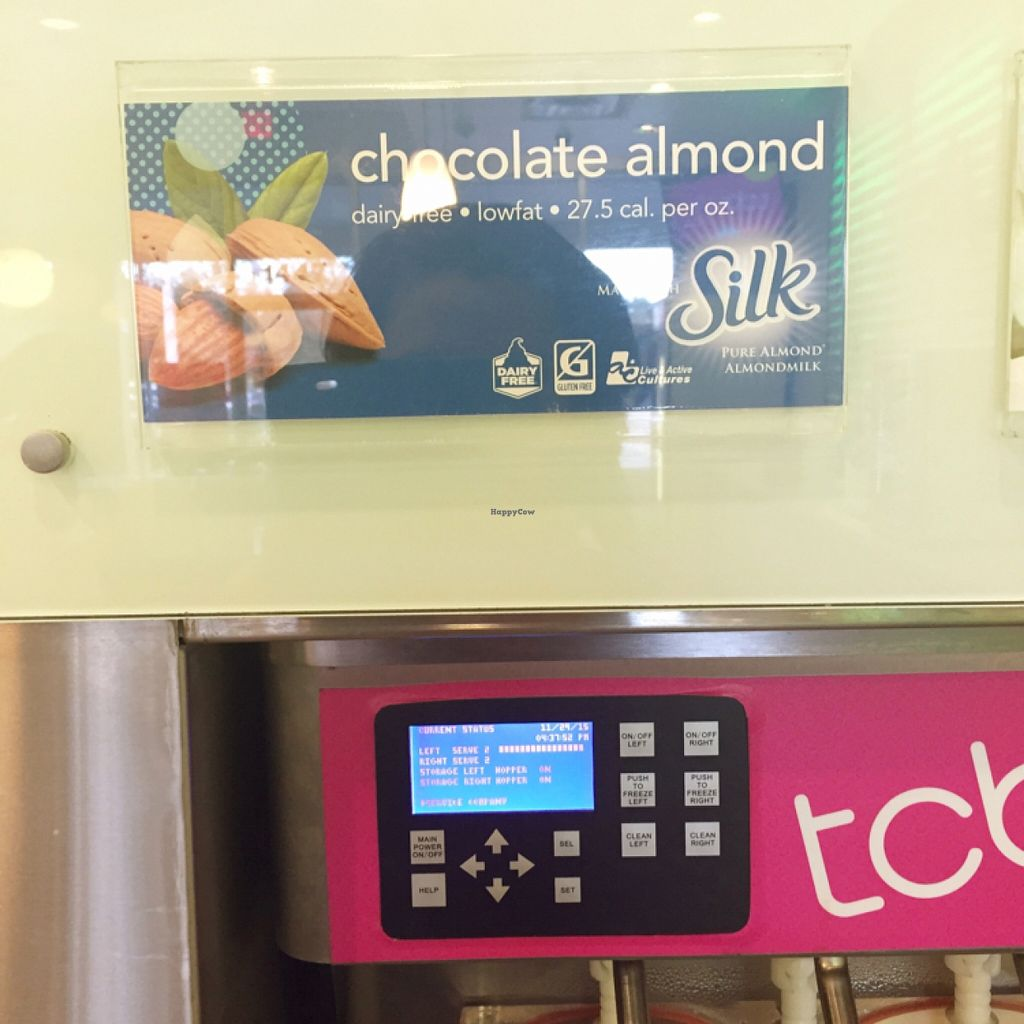 """Photo of TCBY  by <a href=""""/members/profile/applecidermami"""">applecidermami</a> <br/>Sylk's Almond Milk <br/> December 5, 2015  - <a href='/contact/abuse/image/66743/127311'>Report</a>"""