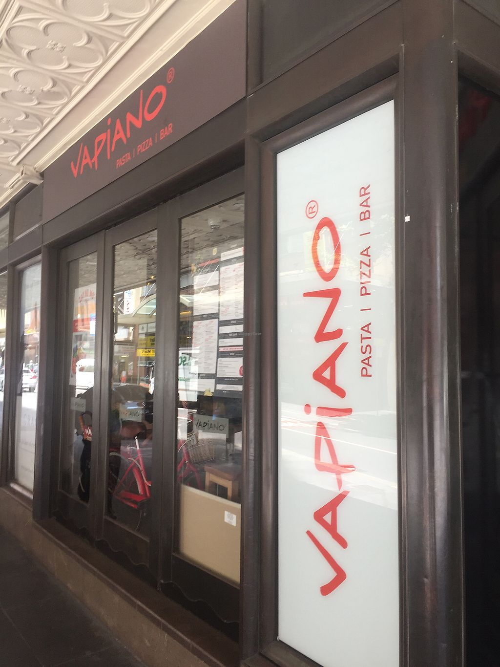 """Photo of Vapiano  by <a href=""""/members/profile/vegpilot"""">vegpilot</a> <br/>Outside  <br/> December 28, 2017  - <a href='/contact/abuse/image/66751/340025'>Report</a>"""