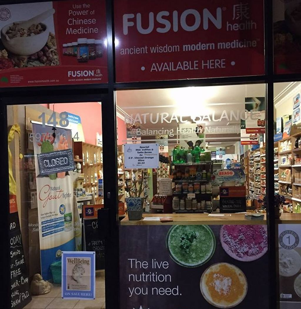 """Photo of Natural Balance Health Store  by <a href=""""/members/profile/community"""">community</a> <br/>Natural Balance Health Store  <br/> December 14, 2015  - <a href='/contact/abuse/image/66759/260185'>Report</a>"""
