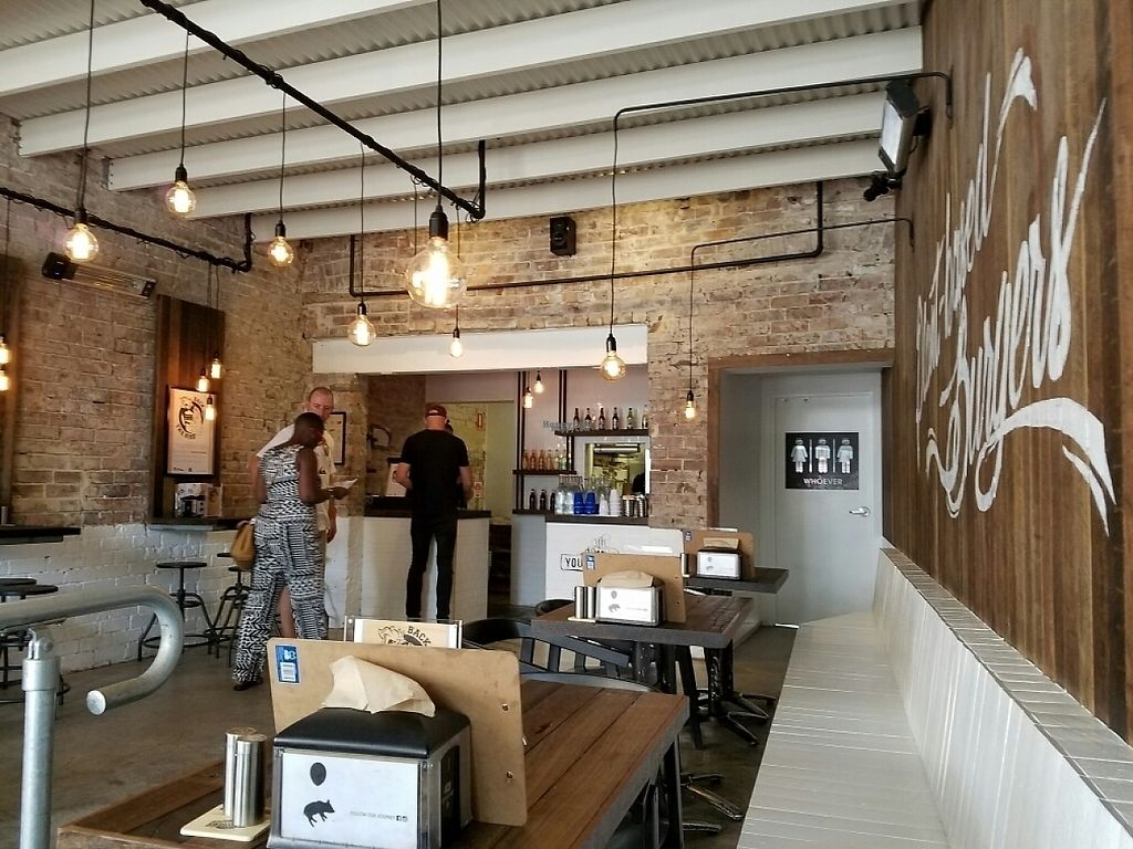 """Photo of Soul Burger - Randwick  by <a href=""""/members/profile/EverydayTastiness"""">EverydayTastiness</a> <br/>inside <br/> December 24, 2016  - <a href='/contact/abuse/image/66760/204380'>Report</a>"""