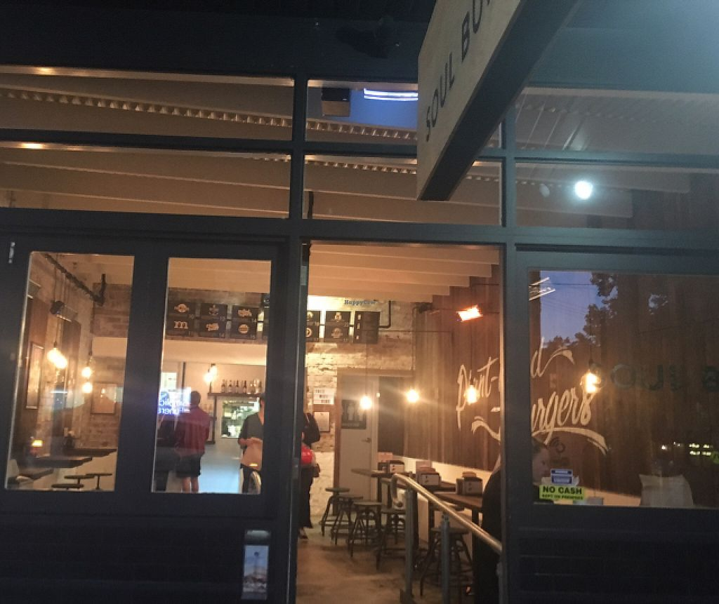 """Photo of Soul Burger - Randwick  by <a href=""""/members/profile/kateofearth"""">kateofearth</a> <br/>shop front  <br/> May 10, 2017  - <a href='/contact/abuse/image/66760/257550'>Report</a>"""