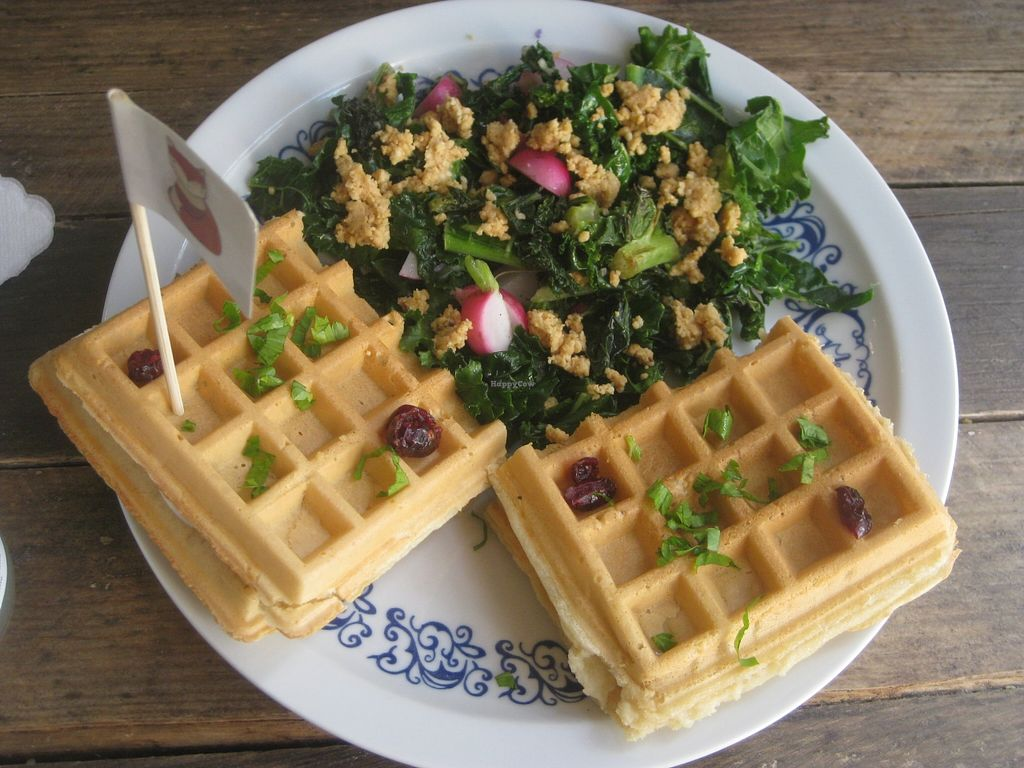 """Photo of CLOSED: Misa Lisa Mega Vegan  by <a href=""""/members/profile/jennyc32"""">jennyc32</a> <br/>Savoury waffles <br/> April 9, 2016  - <a href='/contact/abuse/image/66767/143635'>Report</a>"""