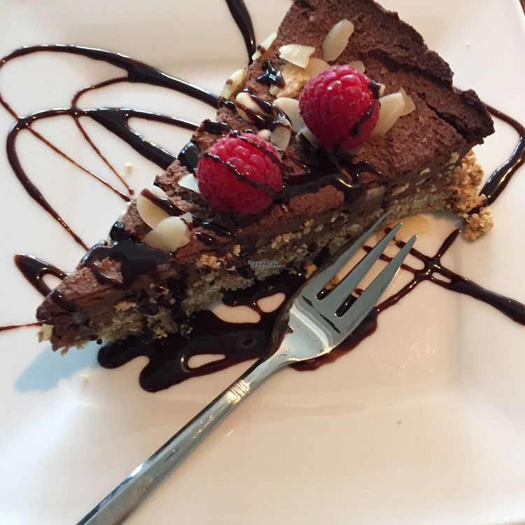 """Photo of CLOSED: Dziupla  by <a href=""""/members/profile/The%20London%20Vegan"""">The London Vegan</a> <br/>vegan tofu cheesecake <br/> September 20, 2016  - <a href='/contact/abuse/image/66769/176971'>Report</a>"""