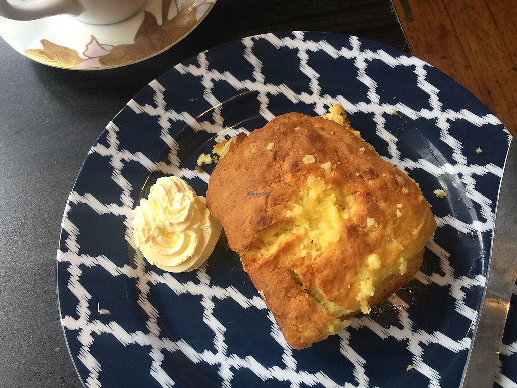 """Photo of Sweet Release Cakes and Treats  by <a href=""""/members/profile/Tiggy"""">Tiggy</a> <br/>'Cheese' scone $4.90 - A savoury snack but crumbly  <br/> January 4, 2018  - <a href='/contact/abuse/image/66770/342771'>Report</a>"""