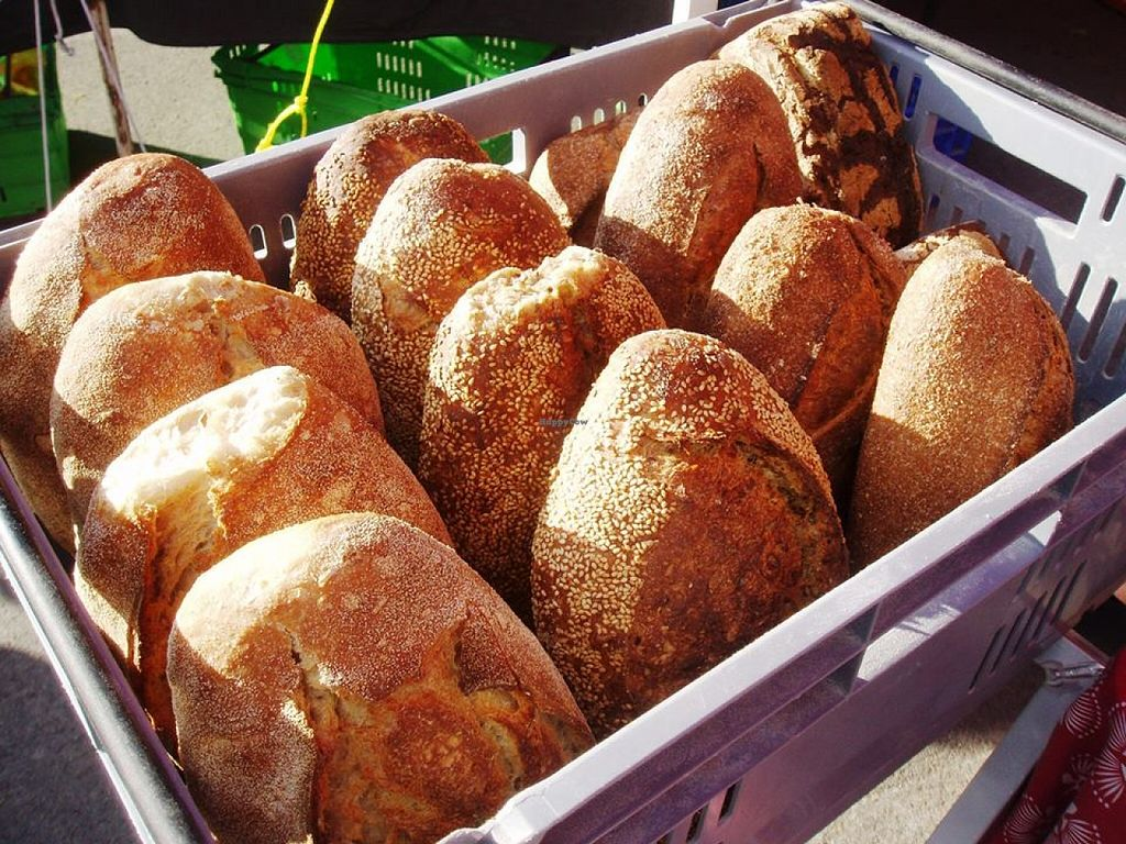 """Photo of Opawa Farmers Market  by <a href=""""/members/profile/community"""">community</a> <br/>fresh loaves  <br/> December 14, 2015  - <a href='/contact/abuse/image/66789/128386'>Report</a>"""