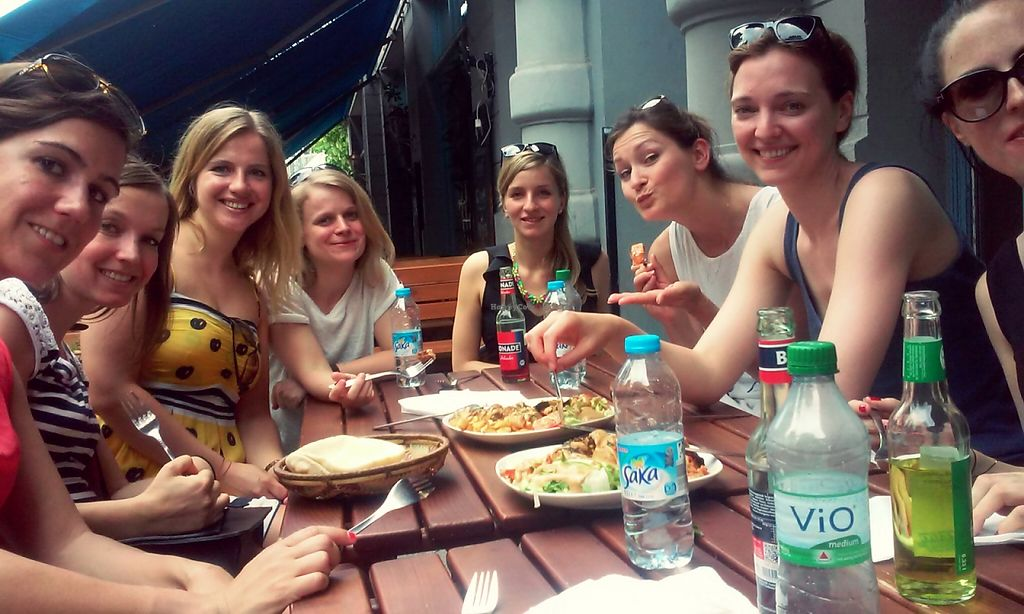 """Photo of Vegan Tours Berlin  by <a href=""""/members/profile/MajaBerlin"""">MajaBerlin</a> <br/>vegan tours Berlin - Kreuzberg - sharing vegan african food in  <br/> January 1, 2016  - <a href='/contact/abuse/image/66793/130588'>Report</a>"""