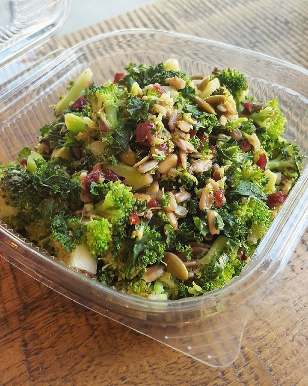 """Photo of Cafe Oranje  by <a href=""""/members/profile/community"""">community</a> <br/>Autumn Broccoli Salad  <br/> February 18, 2017  - <a href='/contact/abuse/image/66795/227733'>Report</a>"""