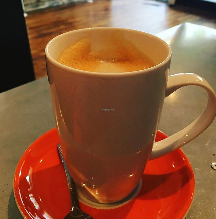"""Photo of Cafe Oranje  by <a href=""""/members/profile/Sanja"""">Sanja</a> <br/>Chai latte <br/> February 9, 2018  - <a href='/contact/abuse/image/66795/356636'>Report</a>"""
