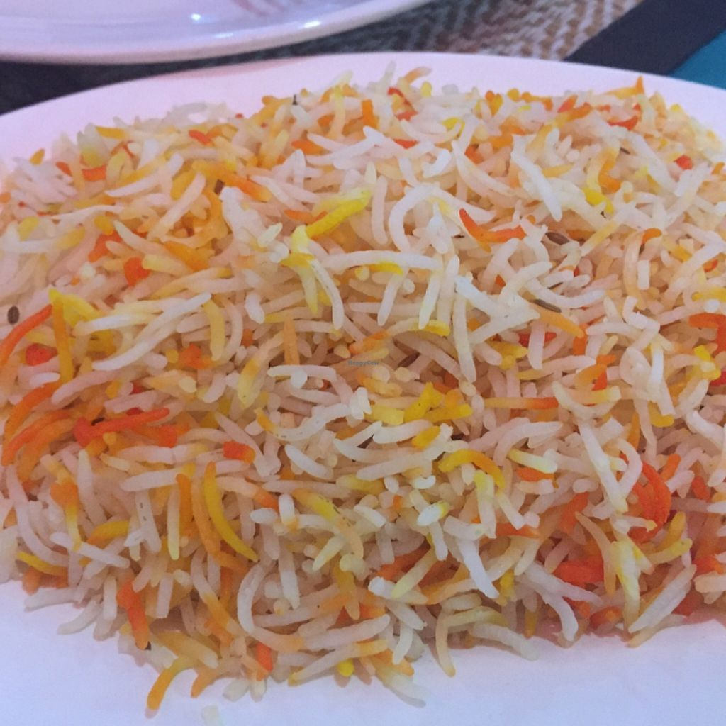 """Photo of Curry Hut Indian  by <a href=""""/members/profile/rtiago"""">rtiago</a> <br/>saffron rice <br/> January 11, 2016  - <a href='/contact/abuse/image/66801/132045'>Report</a>"""