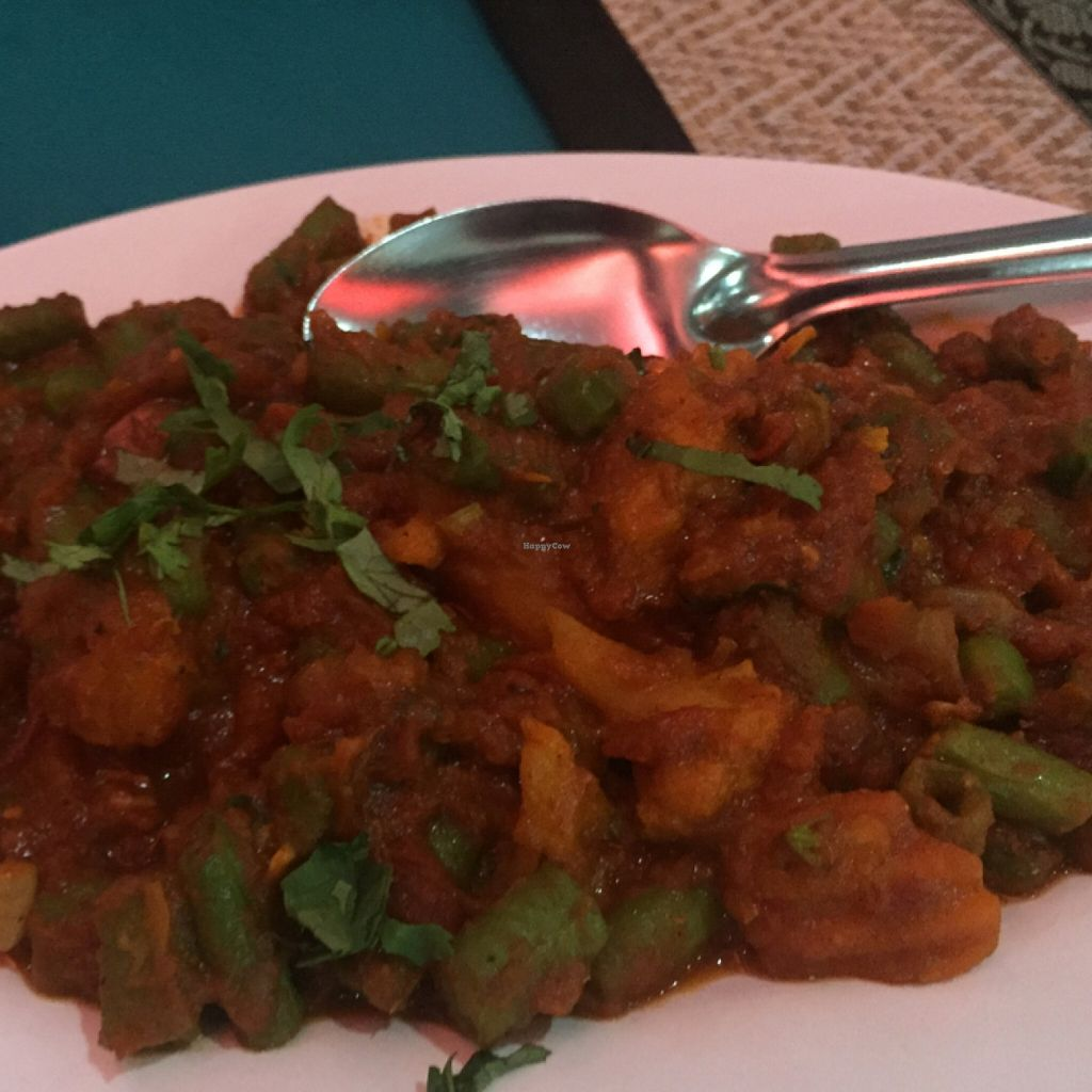 """Photo of Curry Hut Indian  by <a href=""""/members/profile/rtiago"""">rtiago</a> <br/>Sukhi Sabzi <br/> January 11, 2016  - <a href='/contact/abuse/image/66801/132047'>Report</a>"""