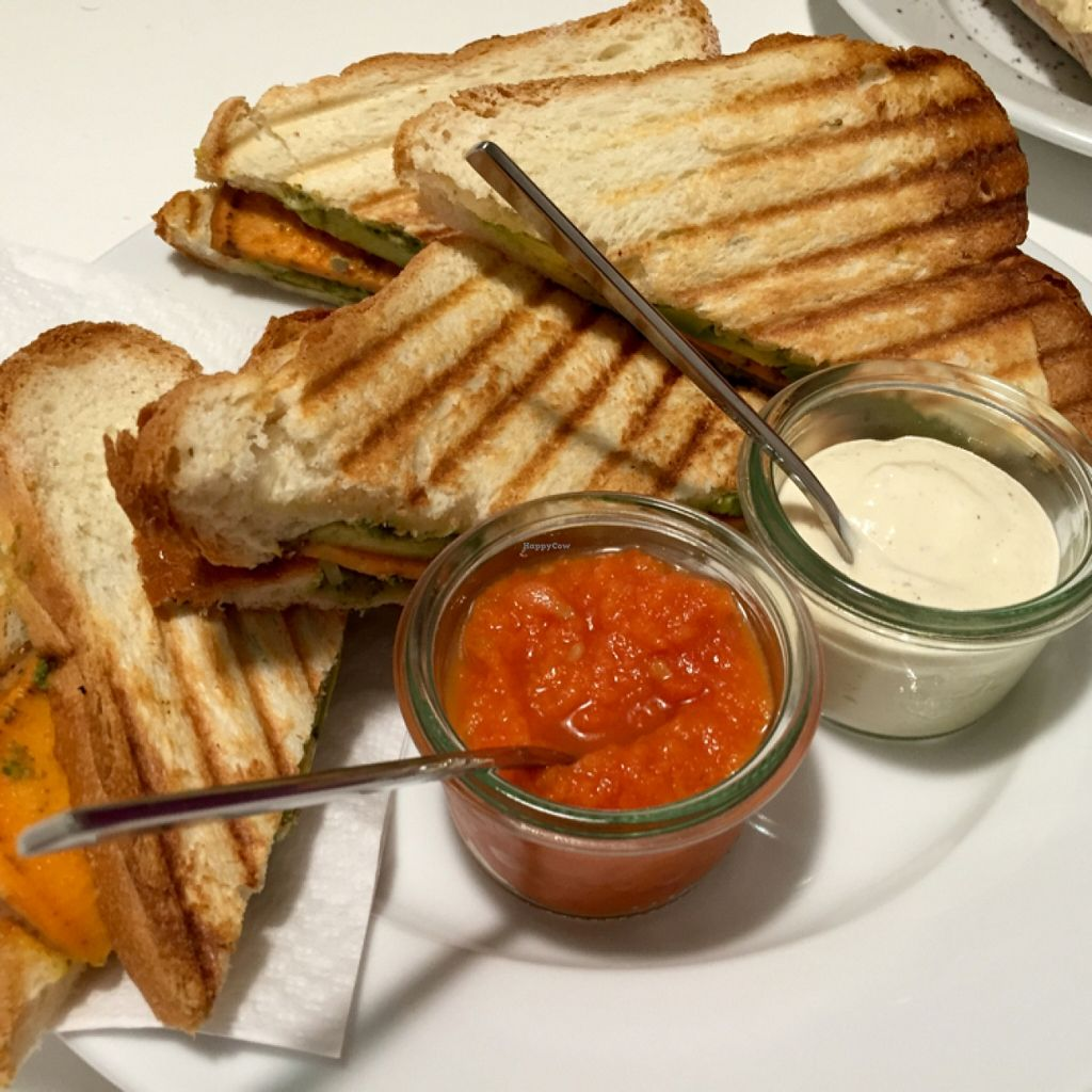 "Photo of Nancy Lee  by <a href=""/members/profile/Vera%20Peres"">Vera Peres</a> <br/>Sweet potato and avocado grilled sandwich with homemade sauces <br/> December 17, 2015  - <a href='/contact/abuse/image/66804/128819'>Report</a>"