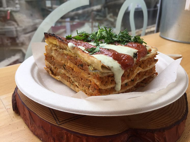 """Photo of Veggie Box  by <a href=""""/members/profile/SergeyBey"""">SergeyBey</a> <br/>vegan lasagna  <br/> June 13, 2017  - <a href='/contact/abuse/image/66810/268672'>Report</a>"""