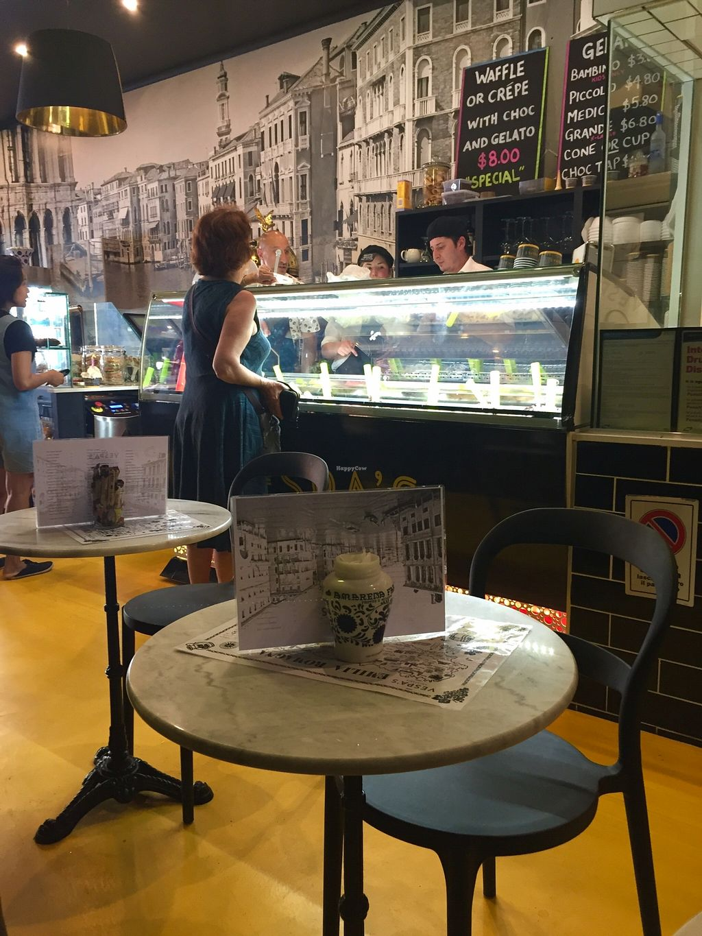 """Photo of Vespa's Gelateria  by <a href=""""/members/profile/karlaess"""">karlaess</a> <br/>Interior  <br/> December 16, 2015  - <a href='/contact/abuse/image/66827/128773'>Report</a>"""