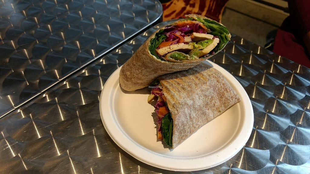 "Photo of Lynne Lorraine's  by <a href=""/members/profile/bduboff"">bduboff</a> <br/>BAKED TOFU WRAP <br/> December 9, 2017  - <a href='/contact/abuse/image/66829/333997'>Report</a>"