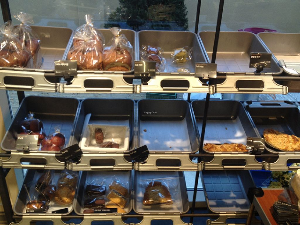 """Photo of REMOVED: Cafe Changbi - 까페창비  by <a href=""""/members/profile/Emomeow"""">Emomeow</a> <br/>All the delicious vegan bread that used to be available at The Blue Bread <br/> December 8, 2015  - <a href='/contact/abuse/image/66836/127642'>Report</a>"""