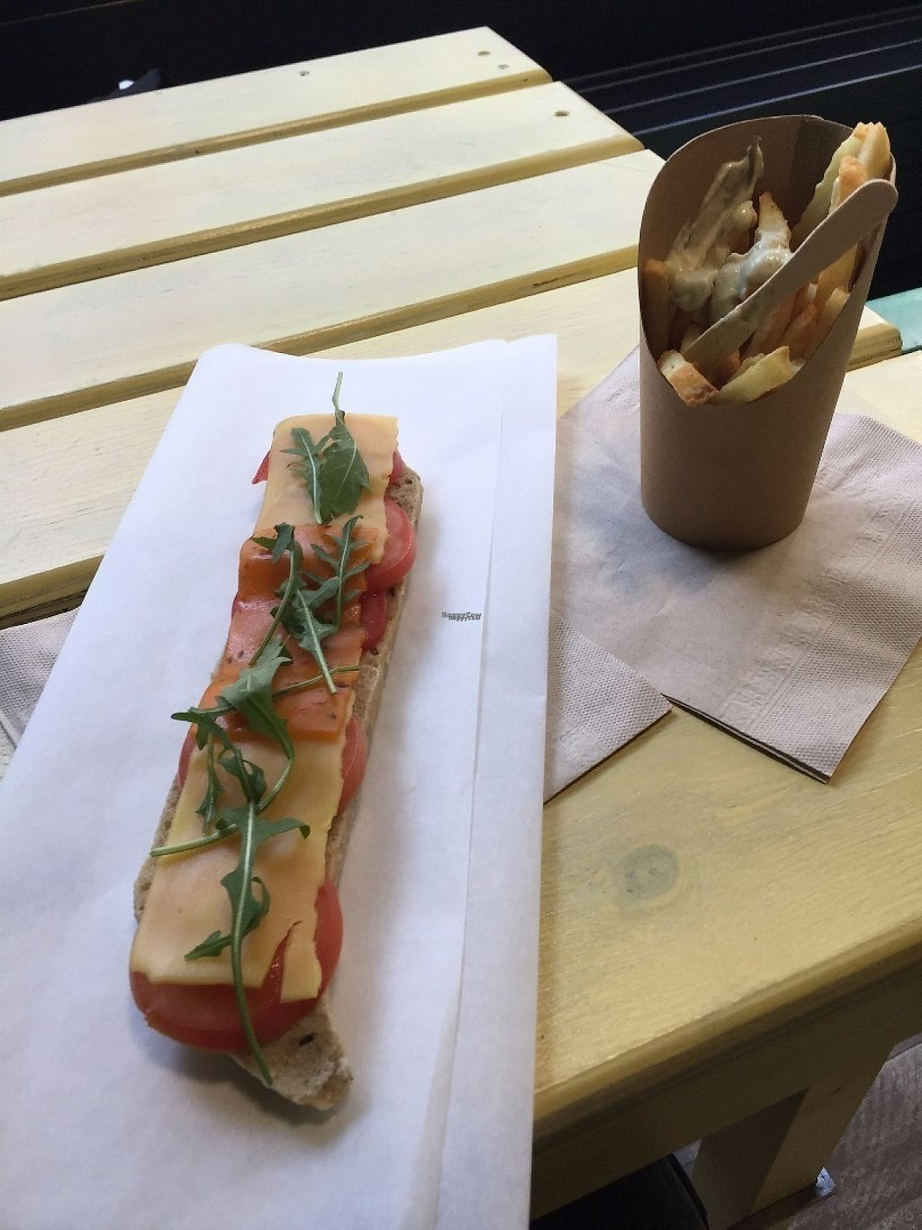 """Photo of CLOSED: VegVeg  by <a href=""""/members/profile/rackoo"""">rackoo</a> <br/>Sandwich + fries <br/> December 13, 2016  - <a href='/contact/abuse/image/66860/200601'>Report</a>"""
