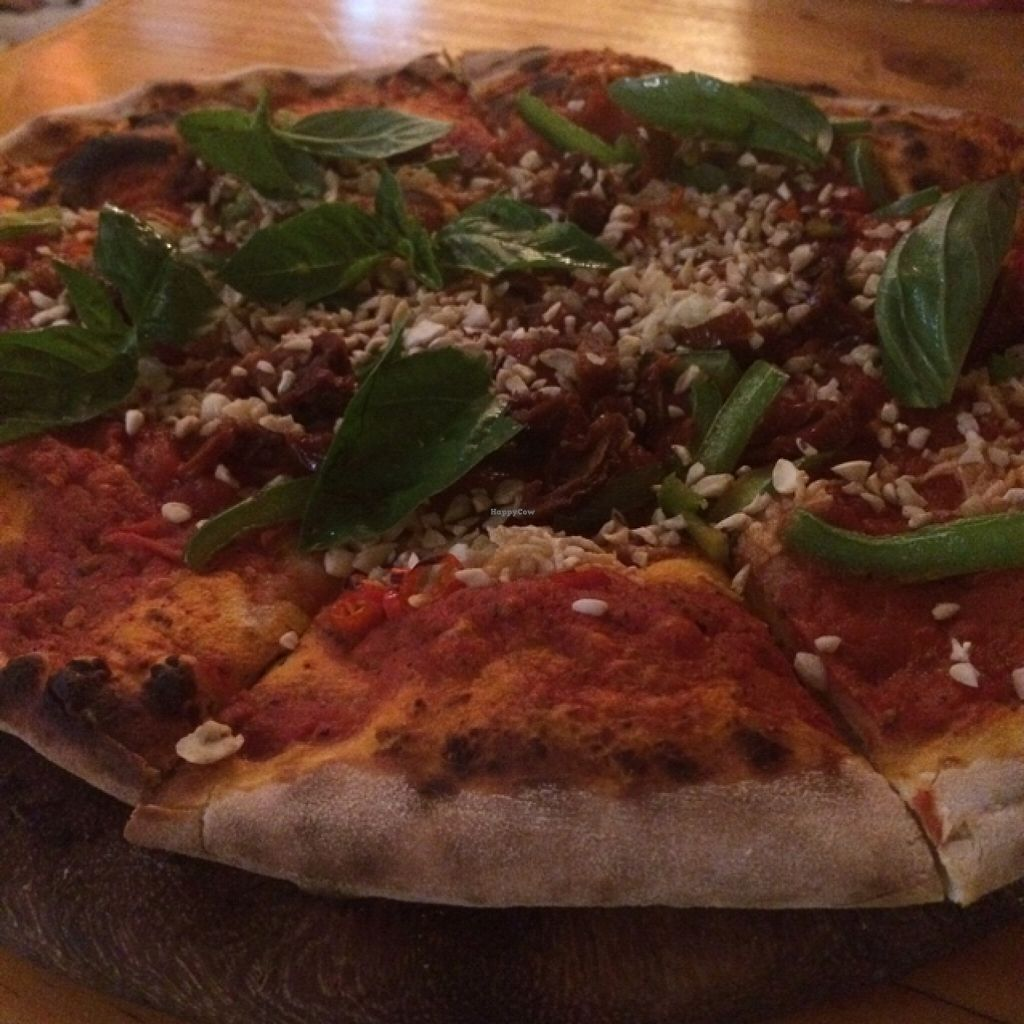 """Photo of By Hand Cafe  by <a href=""""/members/profile/Caitlinhappymeal"""">Caitlinhappymeal</a> <br/>red hot pizza <br/> December 9, 2015  - <a href='/contact/abuse/image/66870/127746'>Report</a>"""