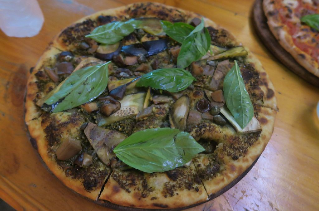 """Photo of By Hand Cafe  by <a href=""""/members/profile/StephVHe"""">StephVHe</a> <br/>Pesto Pizza <br/> December 26, 2016  - <a href='/contact/abuse/image/66870/204749'>Report</a>"""