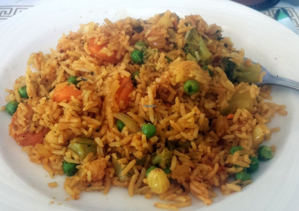 """Photo of Amar India  by <a href=""""/members/profile/claytoaj"""">claytoaj</a> <br/>Vegetable Biryani Rice <br/> September 7, 2016  - <a href='/contact/abuse/image/66891/216937'>Report</a>"""