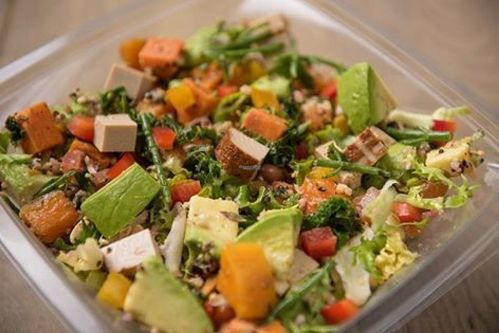 """Photo of Pure - Marylebone  by <a href=""""/members/profile/Meaks"""">Meaks</a> <br/>Vegan Salad <br/> August 14, 2016  - <a href='/contact/abuse/image/66905/168708'>Report</a>"""