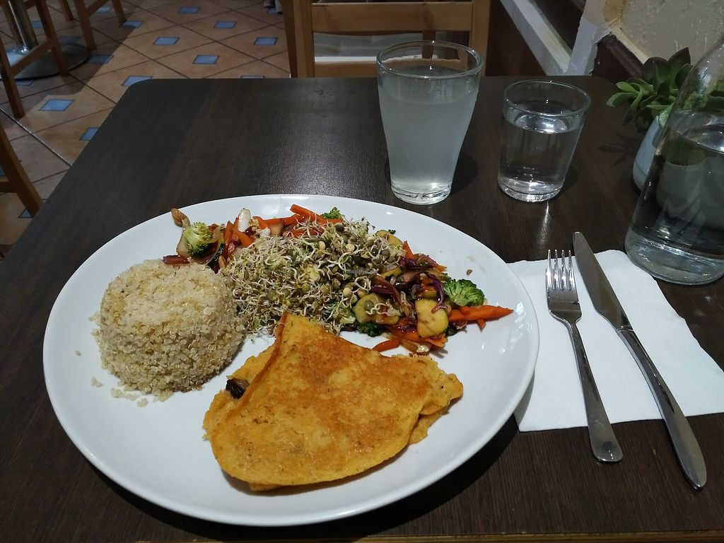 """Photo of Invita Fresh Food  by <a href=""""/members/profile/Ryecatcher"""">Ryecatcher</a> <br/>meal of the day featuring a vegan omelette <br/> July 22, 2017  - <a href='/contact/abuse/image/66908/283411'>Report</a>"""