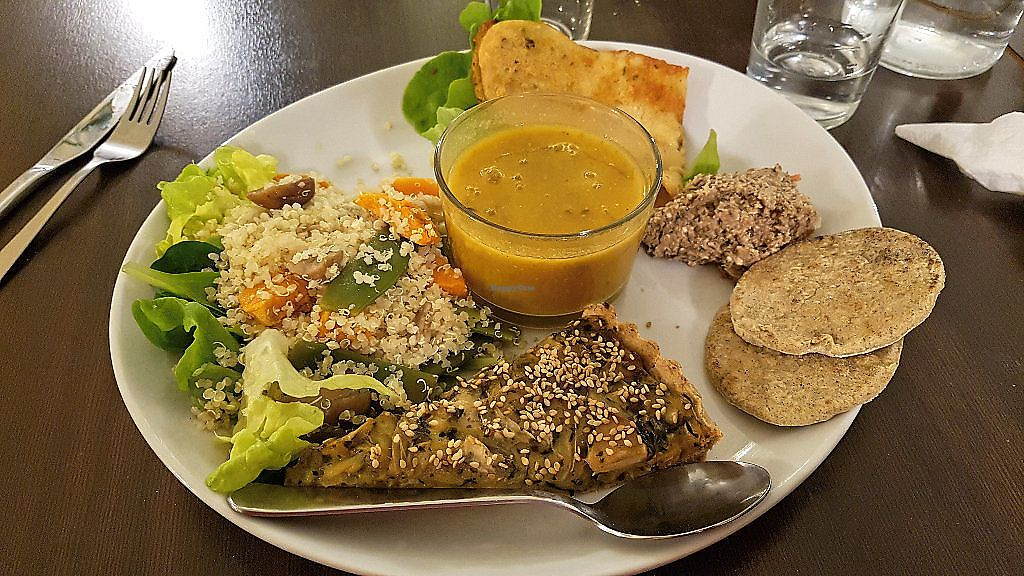 "Photo of Invita Fresh Food  by <a href=""/members/profile/JonJon"">JonJon</a> <br/>Soup, quinoa salad, quiche, pâté, omelette <br/> January 27, 2018  - <a href='/contact/abuse/image/66908/351646'>Report</a>"