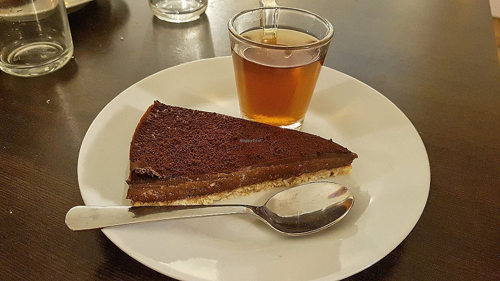 """Photo of Invita Fresh Food  by <a href=""""/members/profile/JonJon"""">JonJon</a> <br/>Chocolate pie and tchai <br/> January 27, 2018  - <a href='/contact/abuse/image/66908/351648'>Report</a>"""