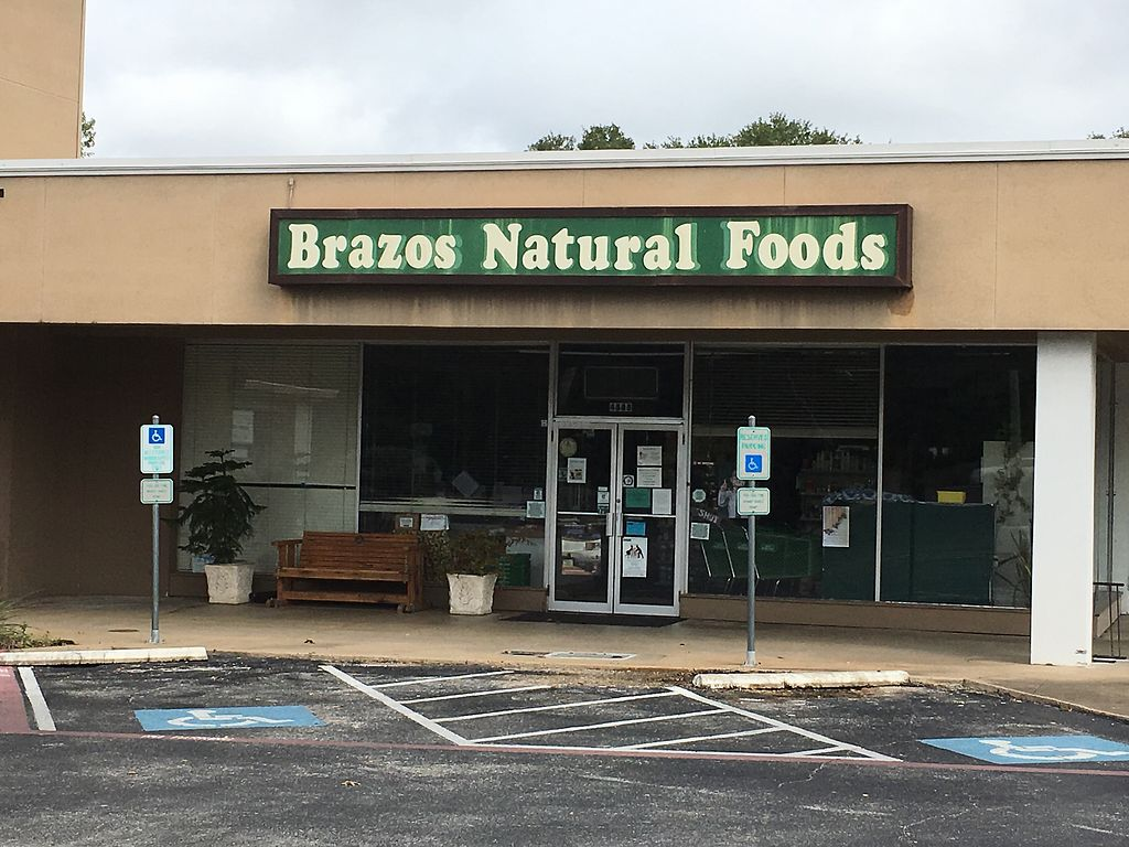 "Photo of Brazos Natural Foods  by <a href=""/members/profile/Micca7"">Micca7</a> <br/>Brazos Natural Foods <br/> October 22, 2017  - <a href='/contact/abuse/image/6690/317729'>Report</a>"