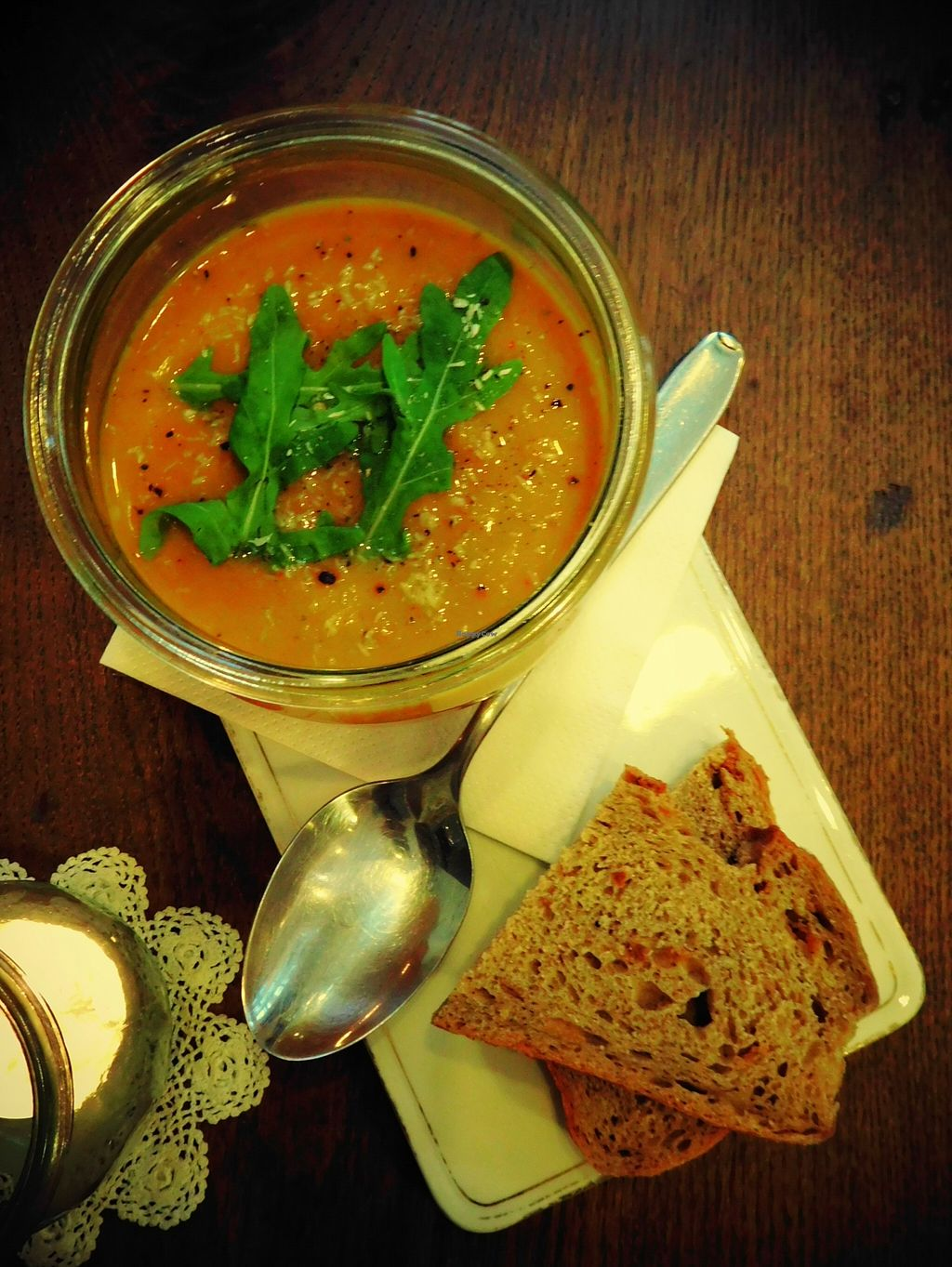 Photo of Eliza Cafe & Lieblingsstucke  by Annibanani <br/>Süßkartoffel Kokos Suppe