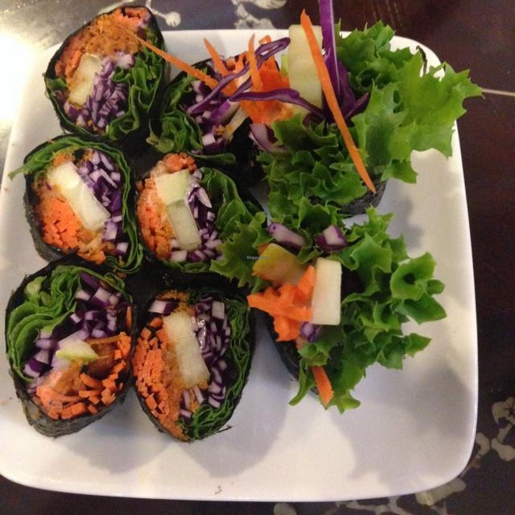 "Photo of Nature's Vegetarian Restaurant - Bangsar Baru  by <a href=""/members/profile/AndyT"">AndyT</a> <br/>Seaweed roll <br/> May 3, 2014  - <a href='/contact/abuse/image/6691/69214'>Report</a>"