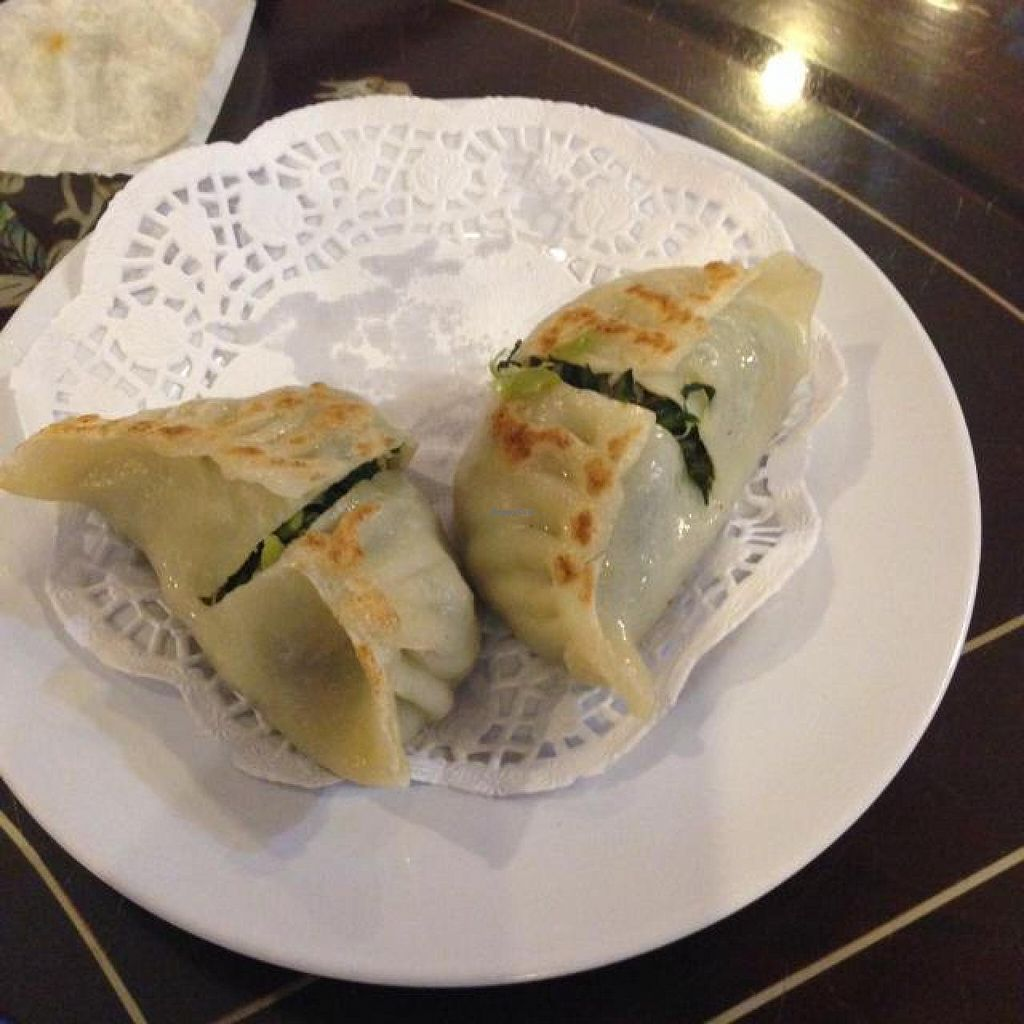"Photo of Nature's Vegetarian Restaurant - Bangsar Baru  by <a href=""/members/profile/AndyT"">AndyT</a> <br/>Pan-fried meat dumpling (2 of 3 pieces remaining) <br/> May 3, 2014  - <a href='/contact/abuse/image/6691/69217'>Report</a>"