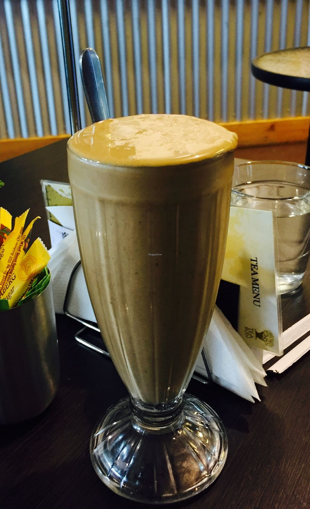 """Photo of CLOSED: Abitza  by <a href=""""/members/profile/karlaess"""">karlaess</a> <br/>Vegan Snickers smoothie with almond milk <br/> December 11, 2015  - <a href='/contact/abuse/image/66922/127984'>Report</a>"""