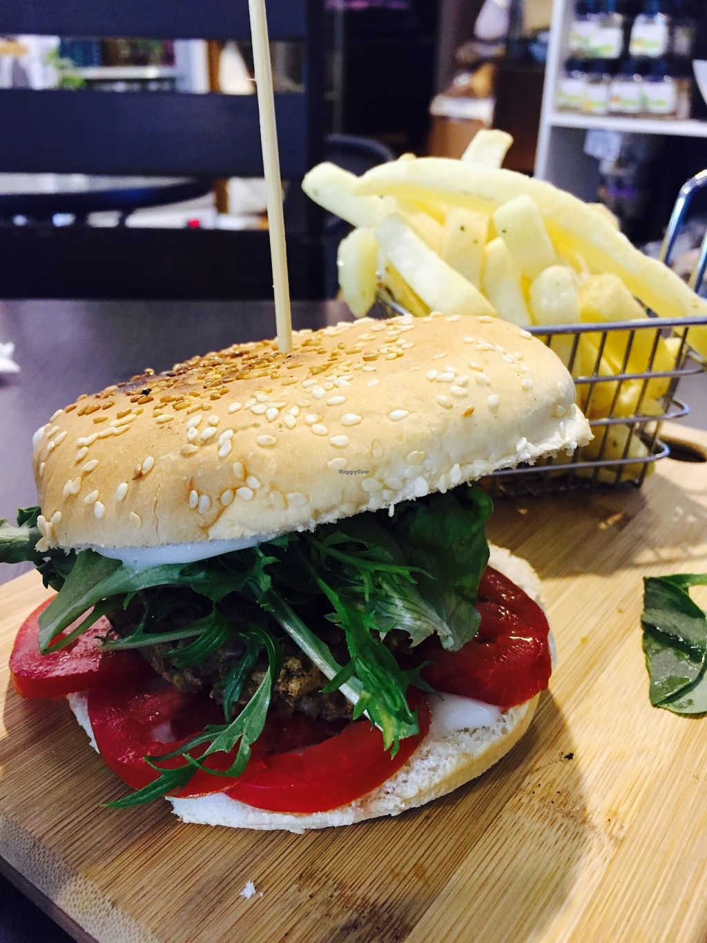 """Photo of CLOSED: Abitza  by <a href=""""/members/profile/karlaess"""">karlaess</a> <br/>Vegan Chickpea & Lentil burger <br/> December 11, 2015  - <a href='/contact/abuse/image/66922/127985'>Report</a>"""